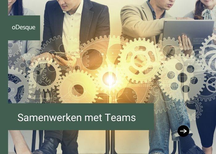 Samenwerken met Teams